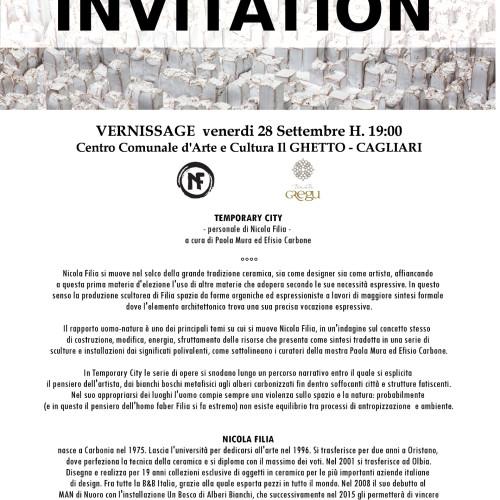 invitation Temporary City